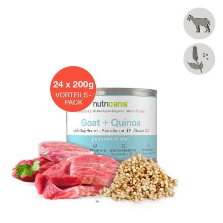 Hvalpefoder til hunde: 24 x 200g Lam + Søde Kartofler