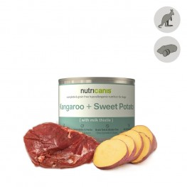 Hypoallergent vådfoder til hunde: 200g Kænguru + Sød Kartoffel