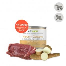 Hvalpefoder til hunde: 12 x 200g Lam + Søde Kartofler
