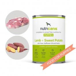 Hvalpefoder til hunde: 400g Lam + Søde Kartofler